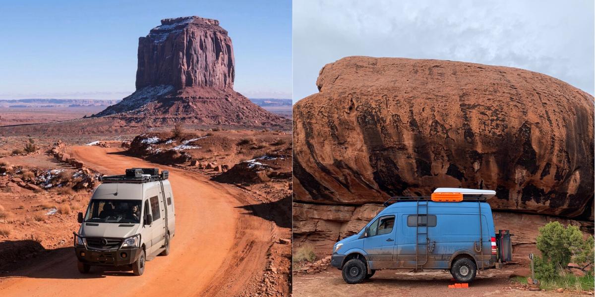 camper vans in utah