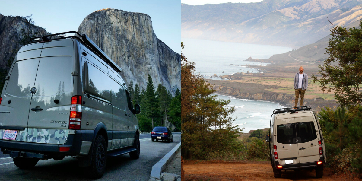 camper vans in california