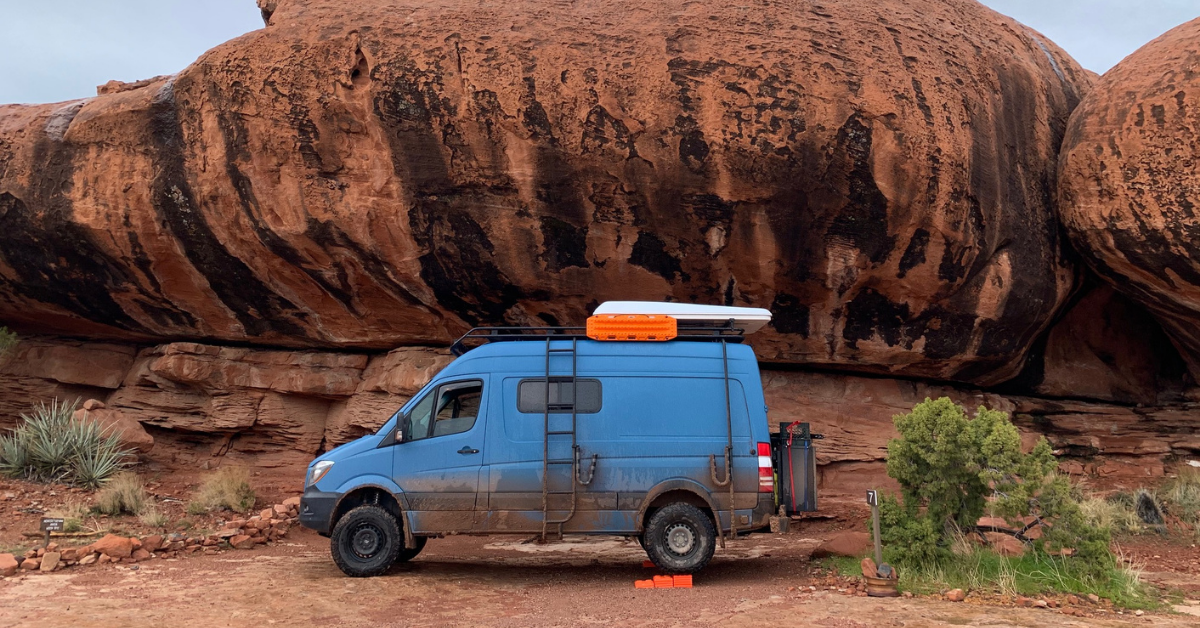 The Mercedes Sprinter 4×4 Drought