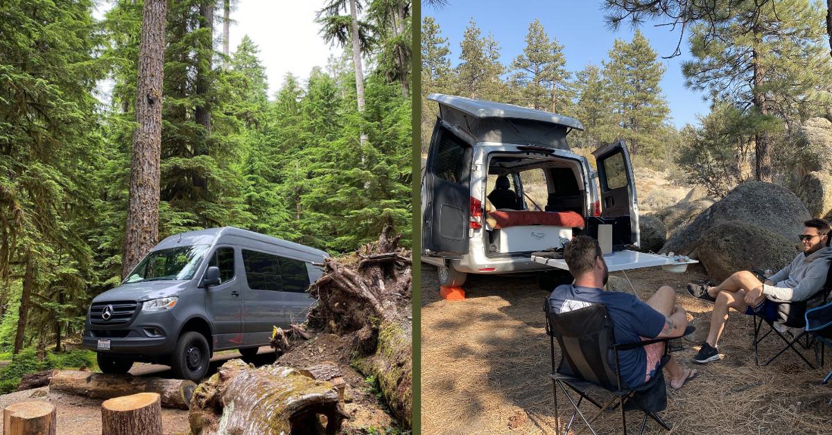 camper vans in national parks