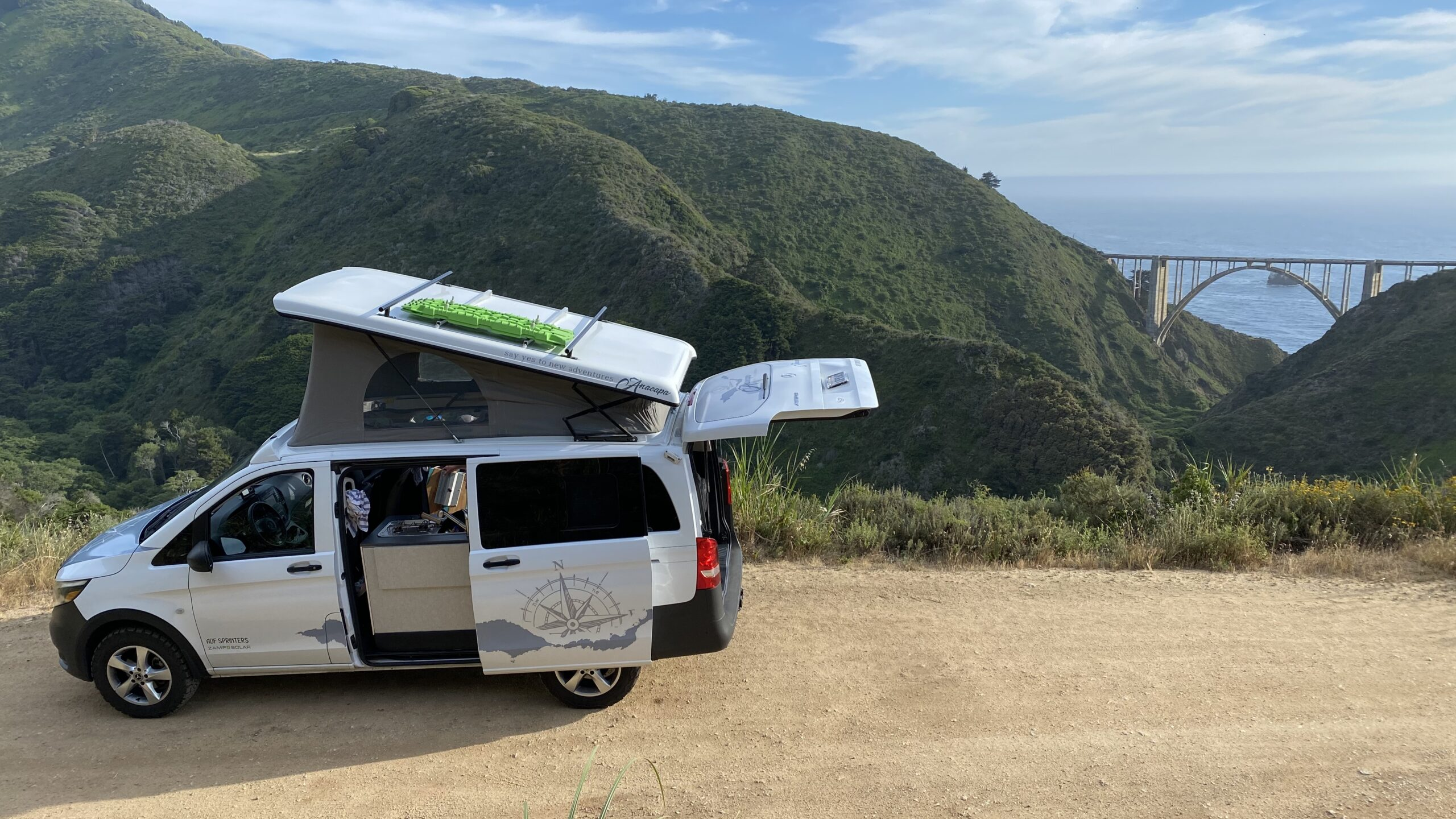5 Reasons to Try A Camper Van Rental in California