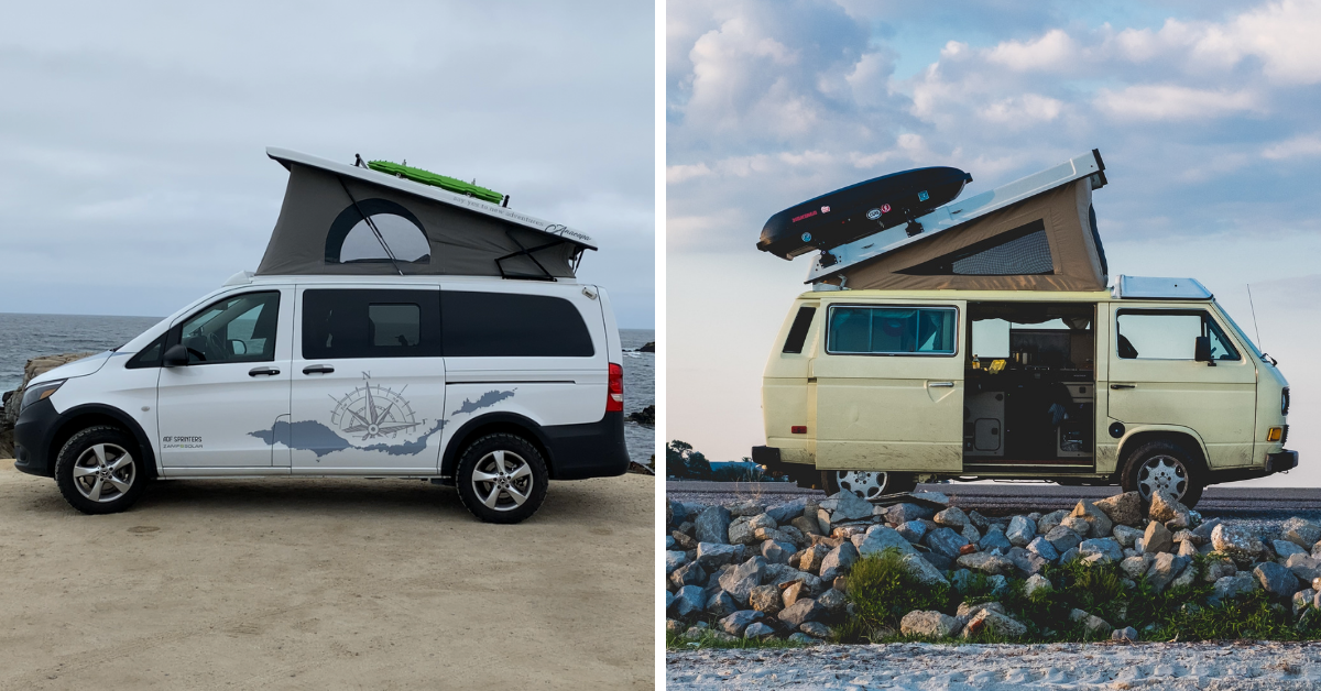 comparing westfalia and anacapa campervans