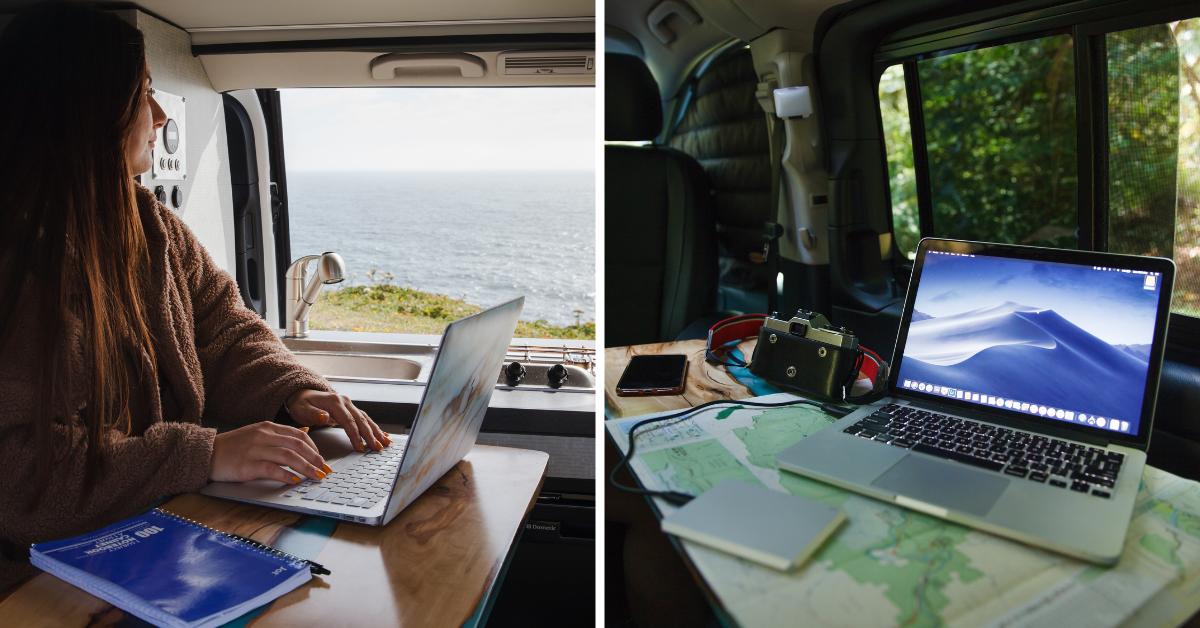 mobile office van