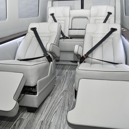 ADF Sprinters - Luxury Meets Executive Coach and Mobile Office